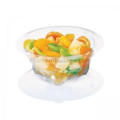 Bol salade cristal avec son couvercle déchirable 250 gr