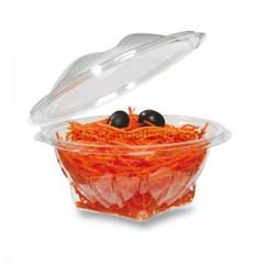 Bol salade cristal à couvercle déchirable 500 g - par 400