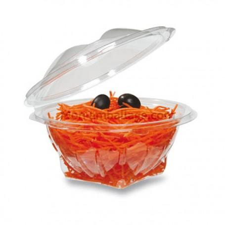 Bol salade cristal à couvercle déchirable 500 g