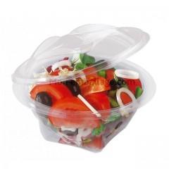 Bol salade cristal à couvercle déchirable 350 ml - par 50