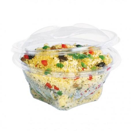 Bol salade cristal à couvercle déchirable 1 kg