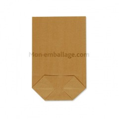 Sachet écorné papier kraft brun 40,5 x 60 cm