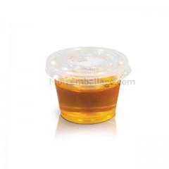 Pot à sauce plastique alimentaire 3 cl DELIPACK