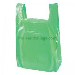 Sac bretelles haute densité vert 26 x 6 x 45 cm - par 2000