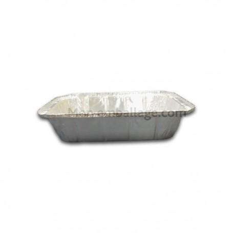 Plat aluminium refermable 1500 gr - par 100