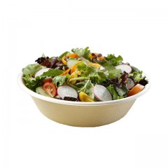 Saladier rond biodégradable en pulpe 1000 ml - par 300