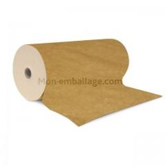 Bobine de 33 cm de papier thermoscellable kraft brun 65 gr/m²