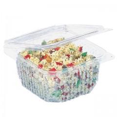 Barquette plastique transparente Optipack à couvercle 1,5 kg - par 60