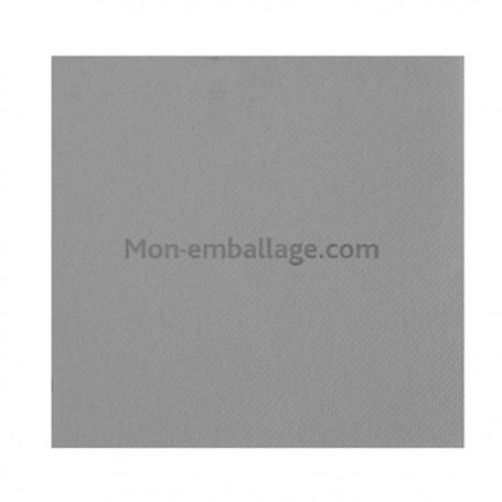 Serviette jetable céli-ouate 38 x 38 cm grise