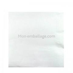 Serviette jetable céli-ouate 38 x 38 cm blanc - par 50