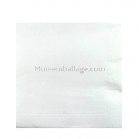 Serviette jetable céli-ouate 38 x 38 cm blanc