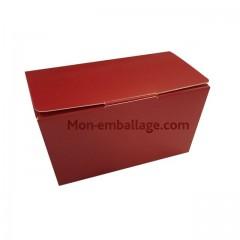 Ballotin rouge 375 gr fermeture a patte - par 10