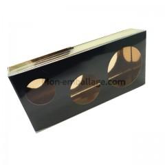 Boite à bulle noire en carton 250gr 18 x 8,5 x 3 cm - par 12
