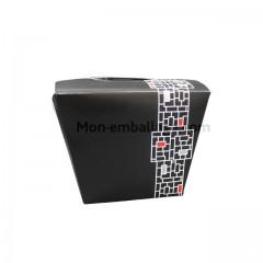 Boite carton alimentaire 750 gr décor orient - carton de 250
