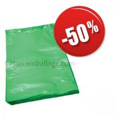 Sac liassé haute densité vert 21 x 3 x 34 cm