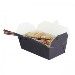 Boite carton alimentaire noire 1000 ml - par 250