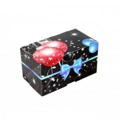 Boîte à bûche décor GALA 20 x 11 x 11 cm - par 25