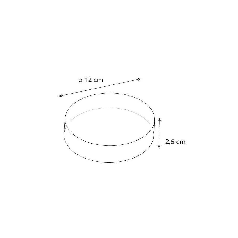 achat boite confiseur ronde 12 cm de diam tre par paquet de 10. Black Bedroom Furniture Sets. Home Design Ideas