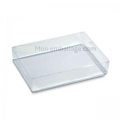 Boite confiseur plastique transparente - par 10