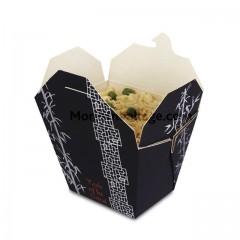 Boite carton alimentaire 750 ml décor orient bambou - par 250