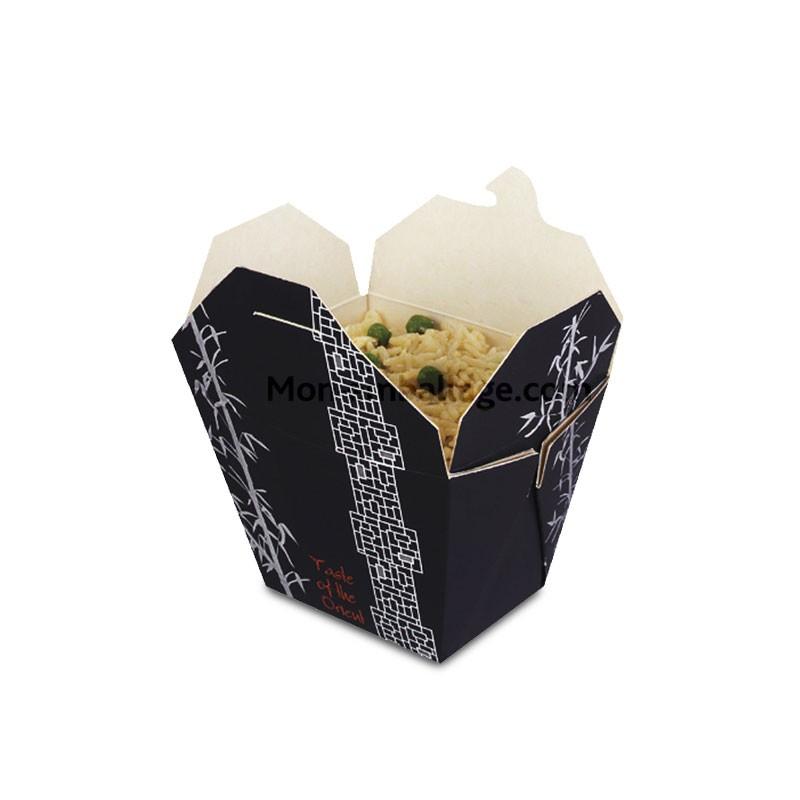 boites carton alimentaire 750 gr d cor orient bambou. Black Bedroom Furniture Sets. Home Design Ideas