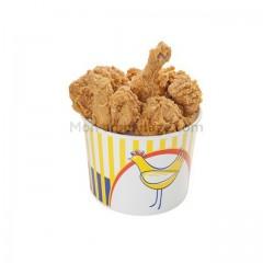 Boite poulet avec couvercle 2,5 kg