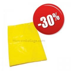 Sac liassé haute densité jaune 21 x 3 x 34 cm pas cher
