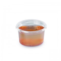 Pot à sauce plastique polypro transparent 10 cl DELIPACK