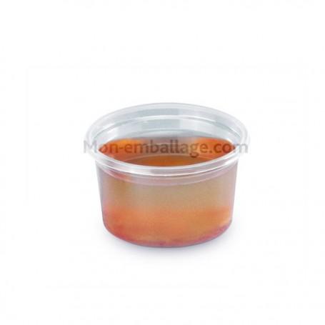 Pot à sauce plastique polypro transparent 10 cl DELIPACK