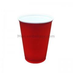 Gobelet en plastique rouge 30 cl - par 100