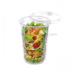 Pot plastique 1000 cc TUSIPACK - par 50