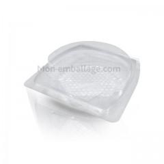 Barquette plastique 1 coquille saint-jacques - par 300