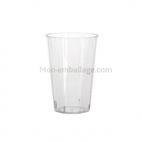 Gobelet cristal octogonal 25 cl - par 20
