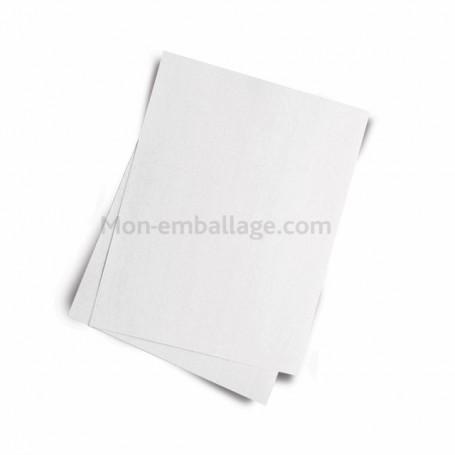 Mousseline blanche 45gr/m2 format 25 x 33 cm - paquet de 10 kg