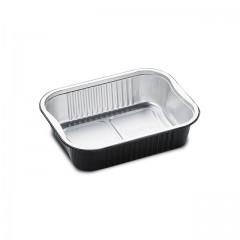 Barquettes aluminium noir READY2COOK 750 ml - par 110