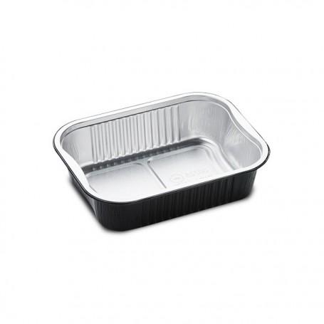 Barquettes aluminium noir READY2COOK 725 ml - par 110