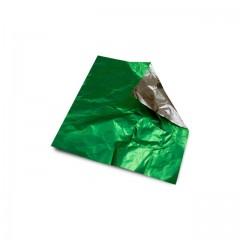 Carré aluminium vert anis 8 x 8 cm par 1000