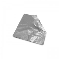 Carré aluminium argent 8 x 8 cm par 1000