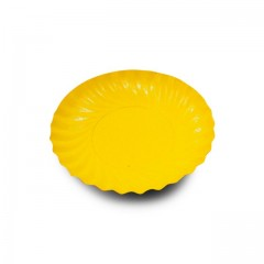 Mini coupelle en carton ronde orange/jaune Ø 90 mm - par 200