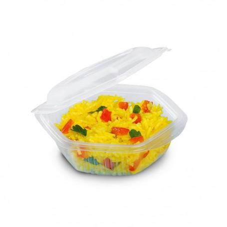 Barquette plastique ALPHATOP 250 gr micro-ondable - par 50