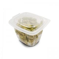 Barquette plastique transparente Ondipack 750 ml avec couvercle - par 50