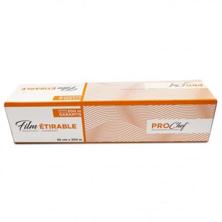 Film alimentaire en boite distributrice 30 cm x 300 m - par 6