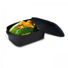 Petite marmite noire polypropylène 100 ml - par 192