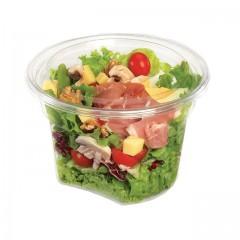 Pot plastique 1500 ml avec encoche TUSIPACK - par 120