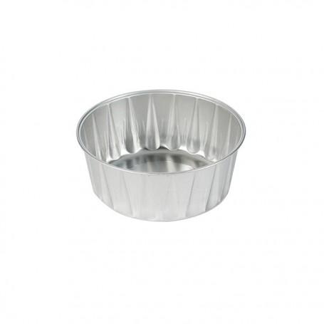 Ramequin aluminium rond 176 ml - par 100