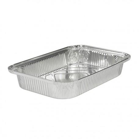 Plat aluminium refermable 2100 ml - par 50