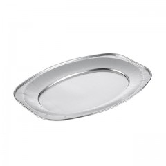Plateau aluminium de présentation 34,5 x 25 cm - par 10