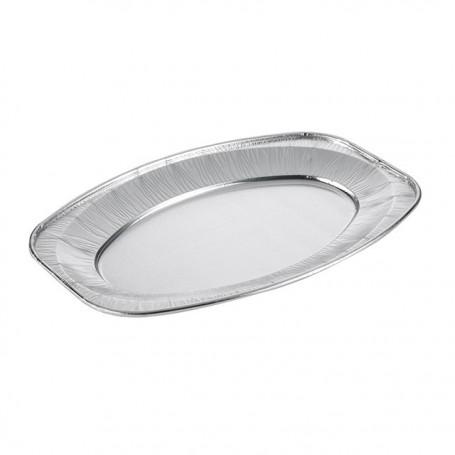 Plateau aluminium de présentation 45 x 29 cm - par 10