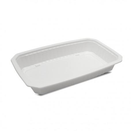 Barquette plastique scellable blanche GASTROPACK 900 ml - par 424