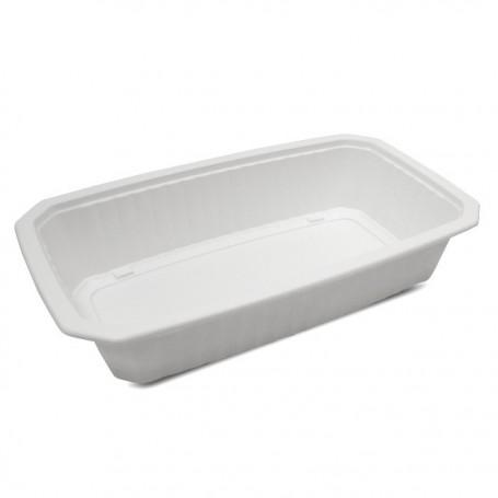 Barquette plastique scellable blanche GASTROPACK 1500 ml - par 384